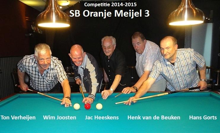 SB Oranje Meijel 2 met naam 1
